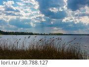 Купить «Beautiful spring landscape at the Holy Lake, Ivanovo region», фото № 30788127, снято 5 мая 2019 г. (c) Валерий Смирнов / Фотобанк Лори