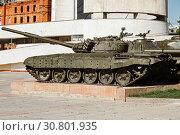 Купить «Soviet heavy T-72 tank, museum panorama Battle of Stalingrad, Volgograd», фото № 30801935, снято 16 мая 2019 г. (c) Владимир Арсентьев / Фотобанк Лори