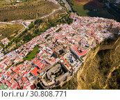 Купить «Arcos de la Frontera, Spain», фото № 30808771, снято 19 апреля 2019 г. (c) Яков Филимонов / Фотобанк Лори