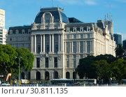 Купить «Nestor Kirchner Cultural Center», фото № 30811135, снято 21 февраля 2017 г. (c) Яков Филимонов / Фотобанк Лори