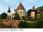 Купить «Image of Church Fortification in Biertan», фото № 30811183, снято 17 сентября 2017 г. (c) Яков Филимонов / Фотобанк Лори