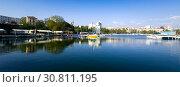 Купить «Port of Constanta, Romania», фото № 30811195, снято 20 сентября 2017 г. (c) Яков Филимонов / Фотобанк Лори