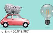 Купить «Idea delivery, creative process», видеоролик № 30819987, снято 26 мая 2019 г. (c) Сергей Петерман / Фотобанк Лори
