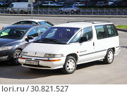 Купить «Pontiac Trans Sport», фото № 30821527, снято 27 мая 2013 г. (c) Art Konovalov / Фотобанк Лори