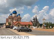 Купить «Церковь Михаила Архангела в Бушарине», эксклюзивное фото № 30821775, снято 26 мая 2019 г. (c) Дмитрий Неумоин / Фотобанк Лори