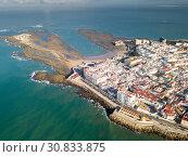General aerial view of Cadiz (2019 год). Стоковое фото, фотограф Яков Филимонов / Фотобанк Лори