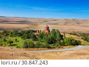 Купить «Marmashen monastery in Armenia, located in Shirak region. Top view», фото № 30847243, снято 30 сентября 2018 г. (c) Наталья Волкова / Фотобанк Лори