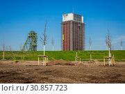 Купить «West Mine, State Garden Show 2020, Kamp-Lintfort, Ruhr Area, Lower Rhine, North Rhine-Westphalia, Germany», фото № 30857723, снято 18 апреля 2019 г. (c) Caro Photoagency / Фотобанк Лори