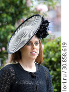 Royal Ascot, United Kingdom, Portrait of HRH Princess Beatrice (2018 год). Редакционное фото, агентство Caro Photoagency / Фотобанк Лори