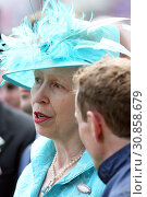 Royal Ascot, Grossbritannien, Portrait of HRH Princess Anne (2018 год). Редакционное фото, агентство Caro Photoagency / Фотобанк Лори