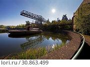 Купить «Landschaftspark Duisburg-Nord, Duisburg, Ruhrgebiet, Nordrhein-Westfalen, Deutschland, Europa», фото № 30863499, снято 20 мая 2020 г. (c) age Fotostock / Фотобанк Лори