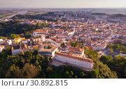 Купить «Santarem district with buildings and landscape, Portugal», фото № 30892815, снято 21 апреля 2019 г. (c) Яков Филимонов / Фотобанк Лори
