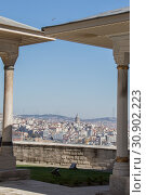 Купить «View of the Galata Tower from the Golden Horn of Istanbul», фото № 30902223, снято 1 апреля 2017 г. (c) easy Fotostock / Фотобанк Лори
