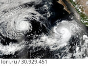 Купить «Cyclone over planet Earth. Elements of this image are furnished by NASA.», фото № 30929451, снято 28 января 2020 г. (c) easy Fotostock / Фотобанк Лори