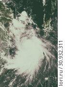 Купить «Tropical cyclone in the Caribbean Sea. Elements of this image are furnished by NASA.», фото № 30932311, снято 28 января 2020 г. (c) easy Fotostock / Фотобанк Лори