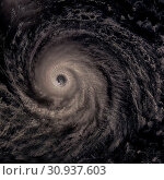 Купить «Hurricane Lester on approach to Hawaii. Elements of this image are furnished by NASA.», фото № 30937603, снято 28 января 2020 г. (c) easy Fotostock / Фотобанк Лори