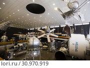 Купить «Tsiolkovsky State Museum of Cosmonautics, Kaluga», фото № 30970919, снято 2 мая 2019 г. (c) Яков Филимонов / Фотобанк Лори