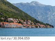 Купить «Herceg Novi ancient town in Perast bay in Montenegro», фото № 30994059, снято 10 июня 2019 г. (c) Володина Ольга / Фотобанк Лори
