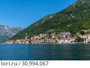 Купить «Herceg Novi ancient town in Perast bay in Montenegro», фото № 30994067, снято 10 июня 2019 г. (c) Володина Ольга / Фотобанк Лори