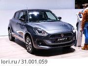 Купить «Suzuki Swift», фото № 31001059, снято 10 марта 2019 г. (c) Art Konovalov / Фотобанк Лори