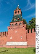 Купить «Благовещенская башня Московского кремля», эксклюзивное фото № 31002739, снято 14 сентября 2018 г. (c) Александр Щепин / Фотобанк Лори