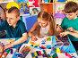 Купить «Children sculpt from clay and draw», фото № 31006771, снято 25 марта 2017 г. (c) Gennadiy Poznyakov / Фотобанк Лори