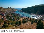 Купить «Балаклава. Крым», фото № 31039603, снято 12 сентября 2016 г. (c) Татьяна Белова / Фотобанк Лори