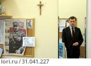 05.11.2009 Warszawa Sejm N/z Rzecznik PiS Mariusz Blaszczak / Редакционное фото, фотограф Brykczynski Donat / age Fotostock / Фотобанк Лори