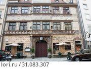 Купить «Ehemalige stadtschreiberei in Munich. Germany», фото № 31083307, снято 23 июня 2019 г. (c) E. O. / Фотобанк Лори