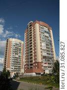 Жилые дома. Новосибирск (2019 год). Редакционное фото, фотограф Андрей Чабан / Фотобанк Лори