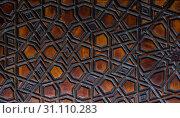 Купить «Ottoman Turkish art with geometric patterns on wood», фото № 31110283, снято 12 ноября 2017 г. (c) easy Fotostock / Фотобанк Лори