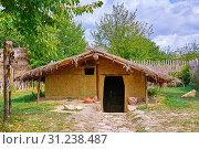 Купить «Little Hut in the Settlement», фото № 31238487, снято 14 сентября 2015 г. (c) easy Fotostock / Фотобанк Лори