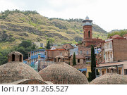 Купить «Tbilisi Old Town, the Historic district of the capital of Georgia», фото № 31265527, снято 17 августа 2016 г. (c) easy Fotostock / Фотобанк Лори