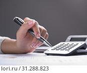 Купить «Market Analyze - pen and calculator on papers», фото № 31288823, снято 26 июня 2010 г. (c) easy Fotostock / Фотобанк Лори