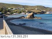 View of the town Chora (Andros Island, Cyclades, Greece) (2019 год). Стоковое фото, фотограф Татьяна Ляпи / Фотобанк Лори