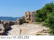 Купить «Fortified City Monemvasia (Laconia, Greece, Peloponnese)», фото № 31393259, снято 15 июня 2019 г. (c) Татьяна Ляпи / Фотобанк Лори