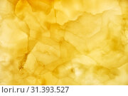 Купить «Onyx wall background. Texture of honey color onyx material», фото № 31393527, снято 15 июня 2018 г. (c) Serg Zastavkin / Фотобанк Лори