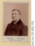Rev. James Callahan. Photo B. Head-and-shoulders cabinet portrait, 1896. Редакционное фото, фотограф Copyright Artokoloro Quint Lox / age Fotostock / Фотобанк Лори