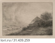 Купить «Hovel on the Hill. Alphonse Legros (French, 1837-1911). Drypoint», фото № 31439259, снято 14 февраля 2019 г. (c) age Fotostock / Фотобанк Лори