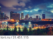 Купить «Los Angeles at night, CA, USA», фото № 31451115, снято 21 ноября 2010 г. (c) Sergey Borisov / Фотобанк Лори
