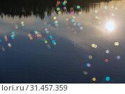Купить «Abstract colored circles», фото № 31457359, снято 25 июля 2015 г. (c) Argument / Фотобанк Лори