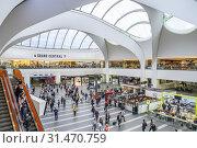 Купить «Grand Central Station, Birmingham, England.», фото № 31470759, снято 23 июля 2019 г. (c) age Fotostock / Фотобанк Лори