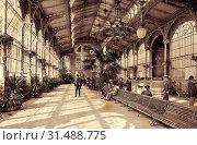 History of Vrídelní kolonáda, 1898 in Karlovy Vary, 1898, Karlovy Vary Region, Karlsbad, Sprudel, Kolonade, Czech Republic (2018 год). Редакционное фото, фотограф Liszt Collection / age Fotostock / Фотобанк Лори