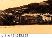 Buildings in Landkreis Sächsische Schweiz-Osterzgebirge, Obstacle courses, Schmiedeberg (Erzgebirge), 1903, Landkreis Sächsische Schweiz-Osterzgebirge, Schmiedeberg, Germany (2019 год). Редакционное фото, фотограф Liszt Collection / age Fotostock / Фотобанк Лори