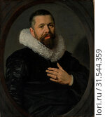 Portrait of a Bearded Man with a Ruff, 1625, Oil on canvas, 30 x 25 in. (76.2 x 63.5 cm), Paintings, Frans Hals (Dutch, Antwerp 1582/83–1666 Haarlem... (2017 год). Редакционное фото, фотограф © Copyright Artokoloro Quint Lox Limited / age Fotostock / Фотобанк Лори