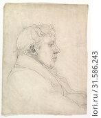 Купить «Portrait of a Man in Profile, 19th century, Graphite, sheet: 18 1/2 x 14 in. (47 x 35.6 cm), Drawings, Cornelius Varley (British, London 1781–1873 London...», фото № 31586243, снято 22 апреля 2017 г. (c) age Fotostock / Фотобанк Лори