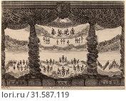 Stefano Della Bella after Alfonso Parigi II (Italian, 1610 - 1664), Sesta Scena di Tutto Cielo, 1637, etching on laid paper (2011 год). Редакционное фото, фотограф copyright Quint Lox Limited / age Fotostock / Фотобанк Лори