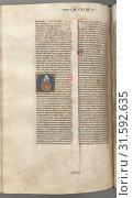 Купить «Fol. 249v, Song of Songs, historiated initial O, theVirgin and Child, c. 1275-1300. Southern France, Toulouse(?), 13th century. Bound illuminated manuscript...», фото № 31592635, снято 14 февраля 2019 г. (c) age Fotostock / Фотобанк Лори
