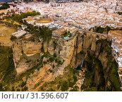 Spanish town of Ronda (2019 год). Стоковое фото, фотограф Яков Филимонов / Фотобанк Лори