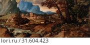 Купить «Titian (Tiziano Vecellio): Sleeping Shepherd, Titian (Tiziano Vecellio), c. 1500–1510, Oil on panel, This work, attributed to the great Venetian painter...», фото № 31604423, снято 14 октября 2019 г. (c) age Fotostock / Фотобанк Лори